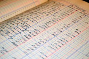 fichier des écritures comptables